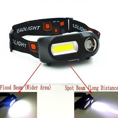12 COB Led Headlight Fishing Camping Riding Outdoor Lighting Head Lamp Torch