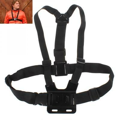 Black Adjustable Chest Strap Mount Chesty Harness for GoPro HD Hero 1/2/3