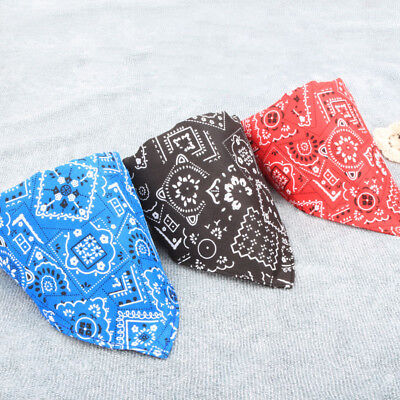 Dog Bandana Collar Flower Adjustable Cat Pet Neckerchief Neck Scarf Tie Decor