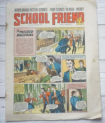 School Friend  comic 26/5/1956