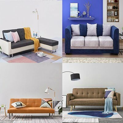 Sofa Seater 2-5 Person with Cushions Sofa Bed Muti-colors Armsofa Lounge
