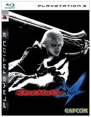 DEVIL MAY CRY 4 LIMITED EDITION PS3 PlayStation 3 Video Game UK Rele New Sealed