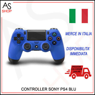 Joystick Controller Ps4 Dualshock 4 Sony Wave Blue V2 It Playstation 4 Nuovo