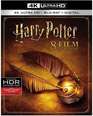 Harry Potter - Complete 8-Film Collection [4K Ultra HD] 2017 Region Free Blu-ray
