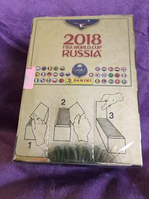 Panini FIFA World Cup WM 2018 Russia - Display Box (Gold Edition - Schweiz)