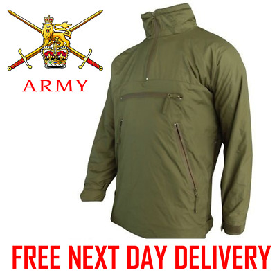 British Army Issue PCS Lightweight Thermal Smock Jacket Olive fleece lined mtp