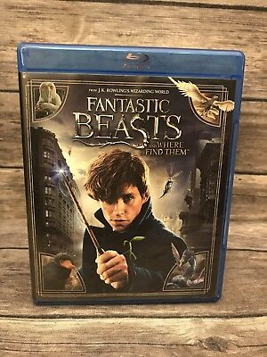 Fantastic Beasts and Where to Find Them (Blu-ray, 2017) *No DVD *No Digital VG