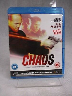Chaos  with Jason Statham & Wesley Snipes Thriller  Blu-Ray DVD