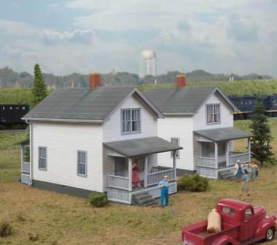 Walthers Cornerstone HO Scale Building/Structure Kit Company House (2-Pack)