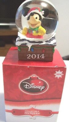2014 Disney JC Penney Mickey Mouse Snow Globe *BRAND NEW IN BOX*