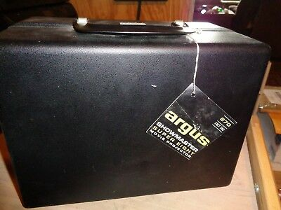 Vintage Argus Showmaster 870 Super Eight 8mm movie projector