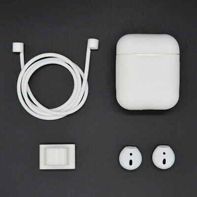 Custodia In Silicone Custodia In Pelle Per Apple AirPods Kit Di Accessori