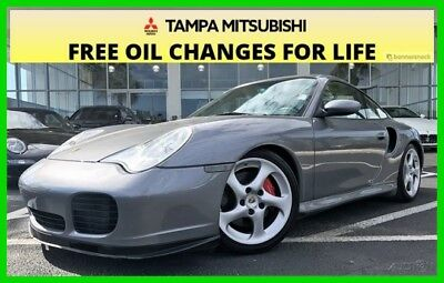 2003 Porsche 911 TURBO ~~~ LOW MILES ~~~ TURBO ~~~ 2003 Turbo Used 3.6L H6 24V Manual AWD Coupe Moonroof Premium