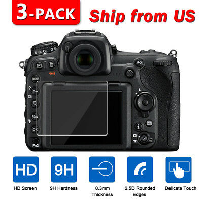 3X TEMPERED GLASS Screen Protector for Nikon D5600 D5500