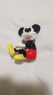 Vintage mickey mouse figurines by walt disney productions japan