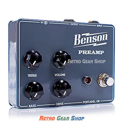 Benson Amps Preamp Guitar Boost Pedal Chimera Amp - Preorder