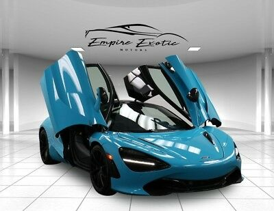 2018 720S 720S Performance Carbon 2 Lift Exhaust, 112 Miles! 2018 McLaren 720S Fistral Blue 112 Miles $371,705 MSRP, Ceramic Paint Corrected