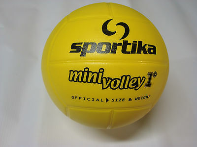 PALLONI SUPER MINI VOLLEY 1° LIVELLO SPORTIKA IN PVC Per Avviamento Volley