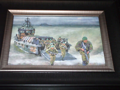 Royal Marines Framed 6X4 Print