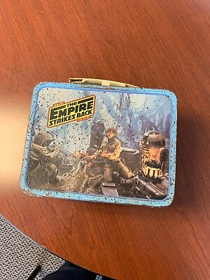 Vintage Star Wars Empire Strikes Back Thermos Lunchbox 1980