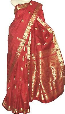 KANCHIPURAM SILK SAREE (Silk Mark certified 100 Natural silk sari