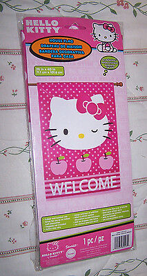 Hello Kitty WELCOME flag