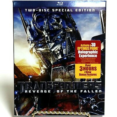 Transformers Revenge of the Fallen 2-Disc Special Edition Blu-Ray Movie