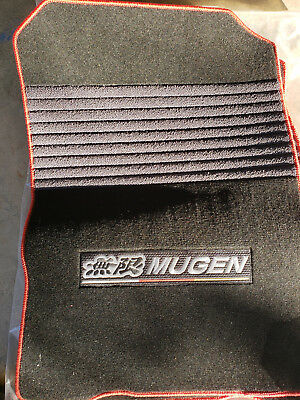 Mugen CRZ Authentic floormats, From a USDM Authentic Mugen Kit , 006/300.