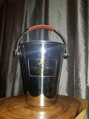 """Stainless Steel """"Laurent - Perrier"""" Champagne Ice Bucket"""