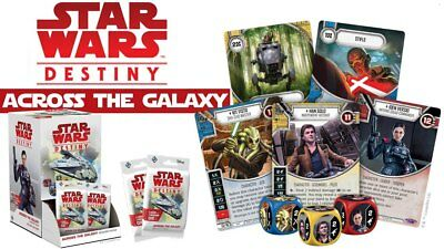 Star Wars Destiny TCG ACROSS THE GALAXY Booster Box Gravity Feed IN STOCK