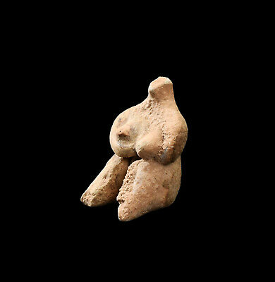 Aphrodite- Ancient Tell-Halaf Pottery Fertility Idol