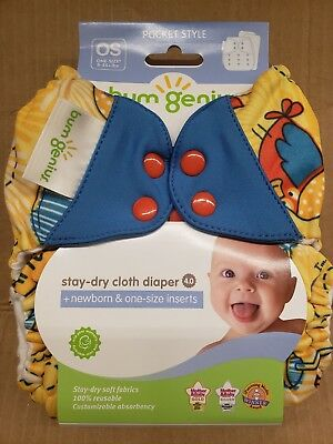 Bumgenius Cloth Diapers 4.0 Pocket Diaper Spence Brand New
