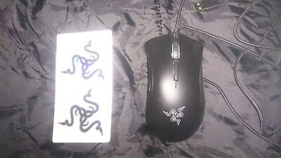 Razer DeathAdder Elite Ergonomic Gaming Mouse,16 000 DPI (With Stickers)