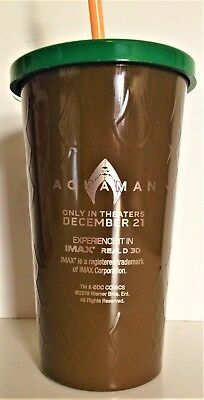 DC Comics: Aquaman 2018 Movie Theater Exclusive Double Walled Cup