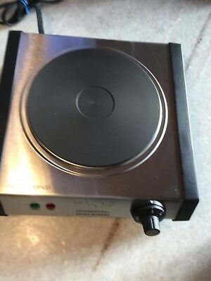 Waring SB30 Electric Professional Extra Burner - 1300W -stainless steel!