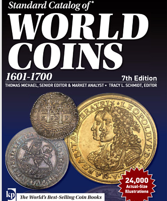 2018 Standard Catalog of World Coins 1601-1700 (7th ed) PDF file (download)