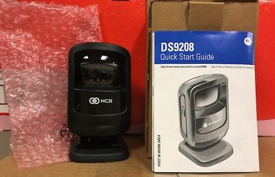 Motorola DS9208 2D Barcode Scanner With USB Cable - Free Shipping