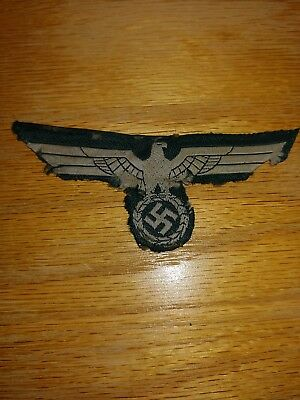 WW2 German Army Tunic Eagle Heer Soliders Patch Wehrmacht Original Patch