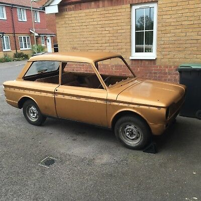 1974 hillman Imp Super for restoration. complete car partially stripped