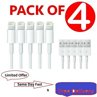 4x iPhone 6 Speedy Data Cable Apple iPad USB Charger Lighting Sync Charging 6 6s