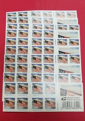 10 Books Of Usps First Class Forever Postage Stamps Us Flag Stamps