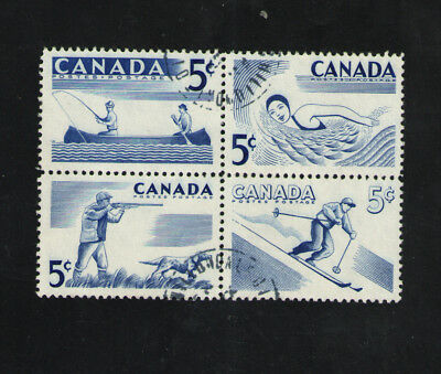 Canada   Scott  368a  Recreation Sports   Fine Used
