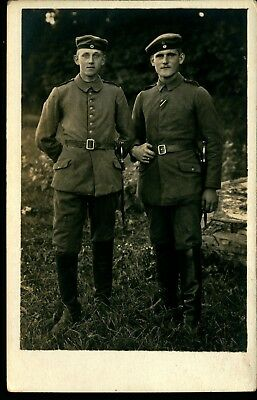WWI German, Prussian Mounted Artillery Soldiers, photo #627