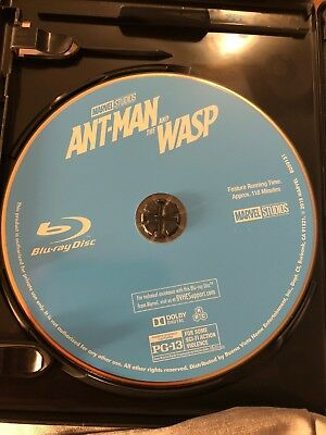 ant man and the wasp blu ray only
