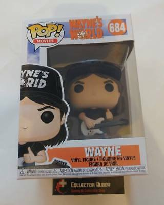 Funko Pop! Movies 684 Wayne's World Wayne Pop Vinyl Figure FU34330