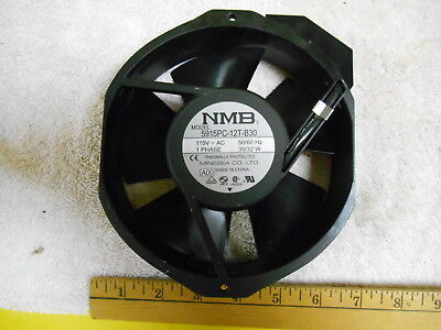 Nmb Fan, 115V-Ac, 1 Phase,50/60 Hz,35/32W, Model 5915Pc-12T-B30,cooling,cabinet