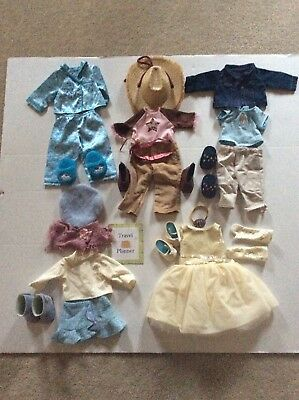 American Girl Doll - Lot of 5 Outfits. Dog PJs, Horse, Gala, Sightseeing, Friend
