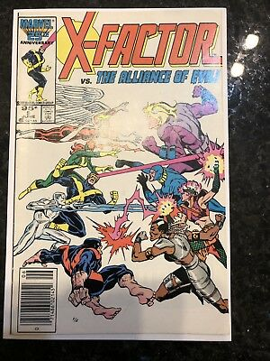 X-Factor #5 First Appearance Of Apocalypse Canadian Price Variant Marvel