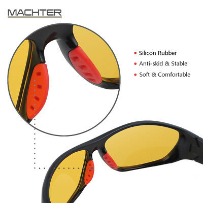 Night Sight Night Vision Driving Glasses HD Sunglasses Polarized Anti Glare Lens