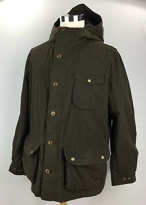 BARBOUR Men's Stratus Jacket Dark Olive Country Field Military Inspired Men's XL